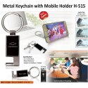 Metal Keychain H-515(With Mobile Holder)