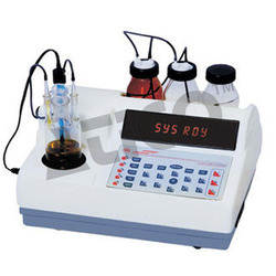 Microprocessor Karl Fischer Titrator, for Laboratory Use