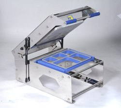 5 Portion Meal Thali Sealing Machine