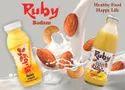 Ruby Badam Flavoured Milk, Packing Type: Pp Bottle, Packaging Size: 200ml