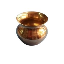 Copper Pooja Lota, For Temple, Capacity: 300 Ml