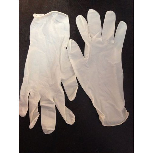 Cream Examination Gloves