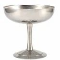 Silver Stainless Steel Ice Cream Cups