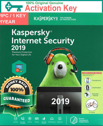 Kaspersky Internet Security 2019 Activation Key 1pc / 1 ...