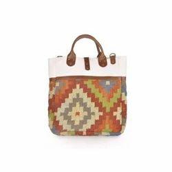 Multicolor Wool Kilim Bags