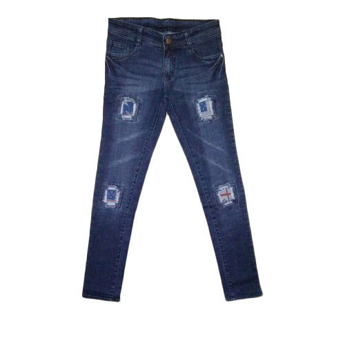 91391e751a42ba Comfort Stretchable Ladies Ripped Jeans, Waist Size: 32, Rs 550 ...