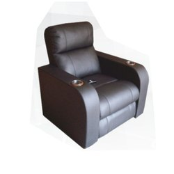 Black Home Theater Recliner Chair