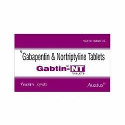 Gabapentin 400 mg &  Nortriptyline 10 mg Tablets