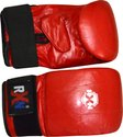Red, Blue Leather Punching/ Bag Gloves