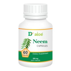D-Aloe Neem Capsules, Prescription, Treatment: Dietary Supplement