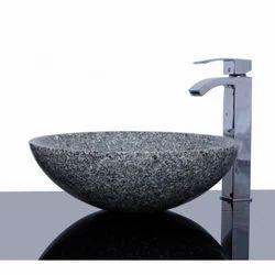 Sunshine Single Granite Bathroom Sink, Finish Type: Polished Or Un Polished , For Kitchen, bathroom, &, wash, basin