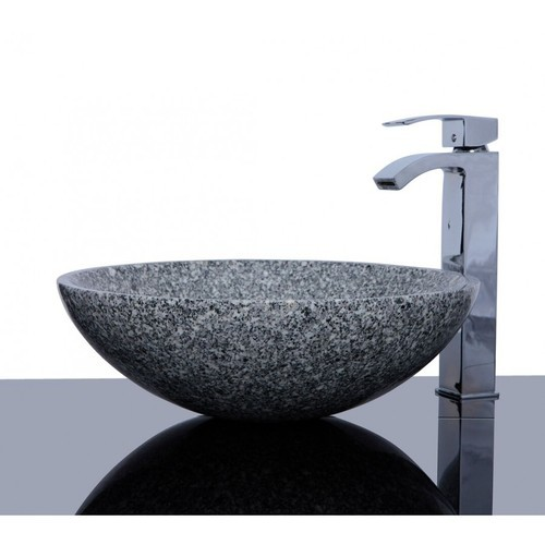 Sunshine Single Granite Bathroom Sink, Granite Sink Bathroom