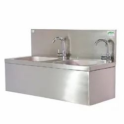 SS Two Person Drinking Water Station