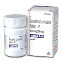 Abalam ( Abacavir 600mg & Lamivudine 300mg ) Tablets