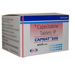 Capnat - Capecitabine 500mg Tablet