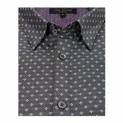 Cotton Print Stylish Shirt, Size: S to XL