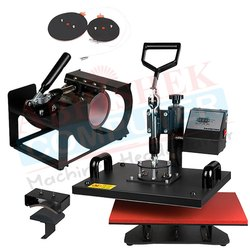 5 in 1 Combo Heat Press Machine - Heavy
