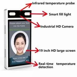 Temperature Measure and Face Recognition Attendance System