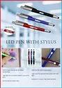 LED Pen with Stylus - Giftana