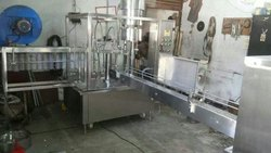 Semi Automatic Rinsing Filling Capping Machine
