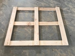 Natural PINEWOOD WOODEN TOP FRAME