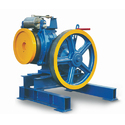 Metal Etm Elevator Traction Machine, For Industrial, Capacity: 6 Passenger (408 Kgs.)