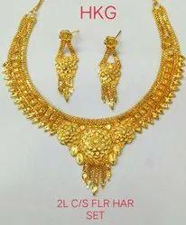 Copper & Brass Golden NECKLACE