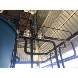 Mild Steel And Stainless Steel Hot Water Boiler Piping, Industrial
