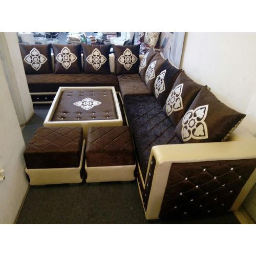 Cane Sofa Set Price In Delhi: Corner Sofa Set, कॉर्नर सोफा सेट