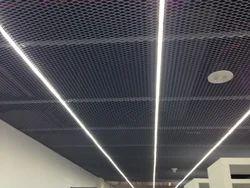 Steel / Stainless Steel Metal Wave Ceiling