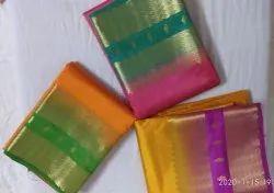 Jojoklikkart Party Wear Silk Sarees, 6.3 m (with blouse piece)