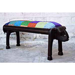Hotel Bedroom Bench in Recycled Fabric