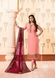 Simar Nazmin By Glossy Georgette Work Salwar Suits