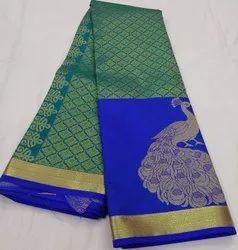 Kanchi Pattu Saree Party Wear Silk Saree