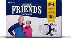 Friends Adult Diaper Pull Up ( Pant Style Size : M-l)