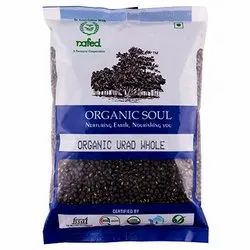 Organic Urad Whole, Packaging Size: 500 g, Packaging Type: Packets