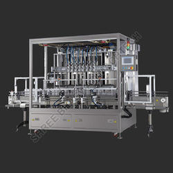 Engine Oil Filling Machine