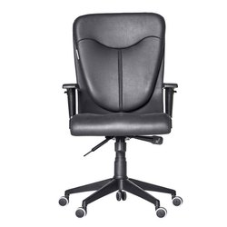 Fonzel 1820102 Zaire High Back Leatherette Office Chair