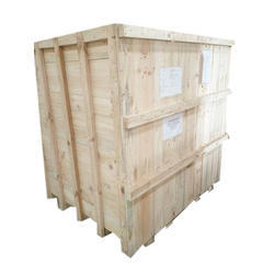 Rectangular Wooden Shipping Boxes