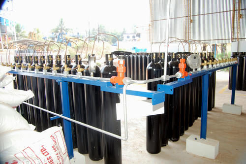 Oxygen & Nitrogen Cylinder Filling Plant - Oxygen And