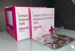 Clarithromycin Pantoprazole Amoxycillin Kit