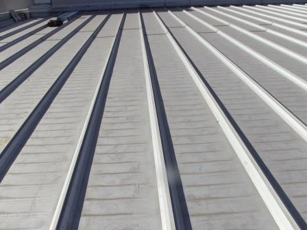 Grey Standing Seam Roofing Sheet