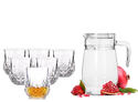 Divine Jug And Glasses Set