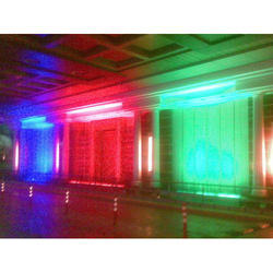 Green And Red & Blue Indoor Architectural Fountain