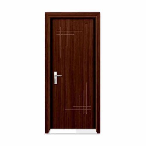 Brown Wood Interior Doors: Brown Laminated Wooden Door