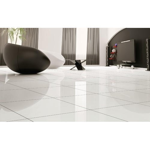 White Living Room Ceramic Flooring Tiles Packaging Type Box Rs 650 Box Id 20540495755