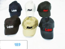 Fashionable Cotton Caps And Hats, Code 189