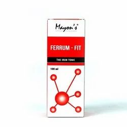 Mayon's Ferrum Fit The Iron Tonic, Packaging: 100 mL