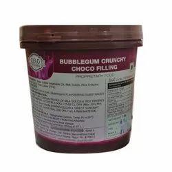 1 Kg Bubblegum Crunchy Choco Filling