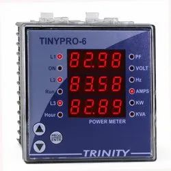 Red 0.4 Seven Segment Trinity Tiny Pro 6 Intelligent And Smart Meter